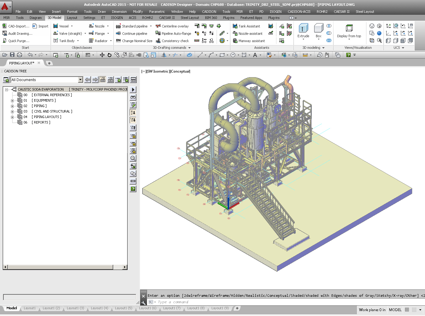 Plant equipment pipeline planning software for Software for planning room layouts