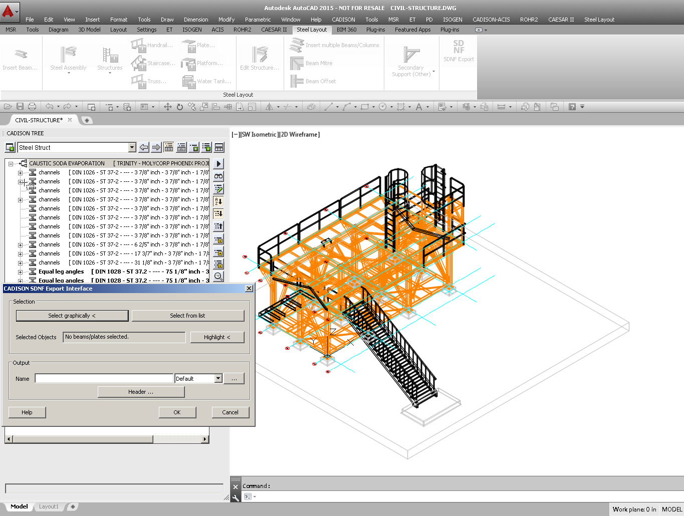 Plant Engineering Software Piping Analysis Layout Calculation Sdnf Interface For Further Detailing