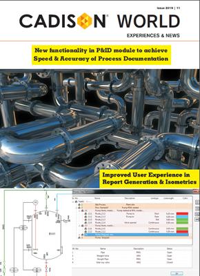 CADISON - Plant Design and Equipment Engineering Solution