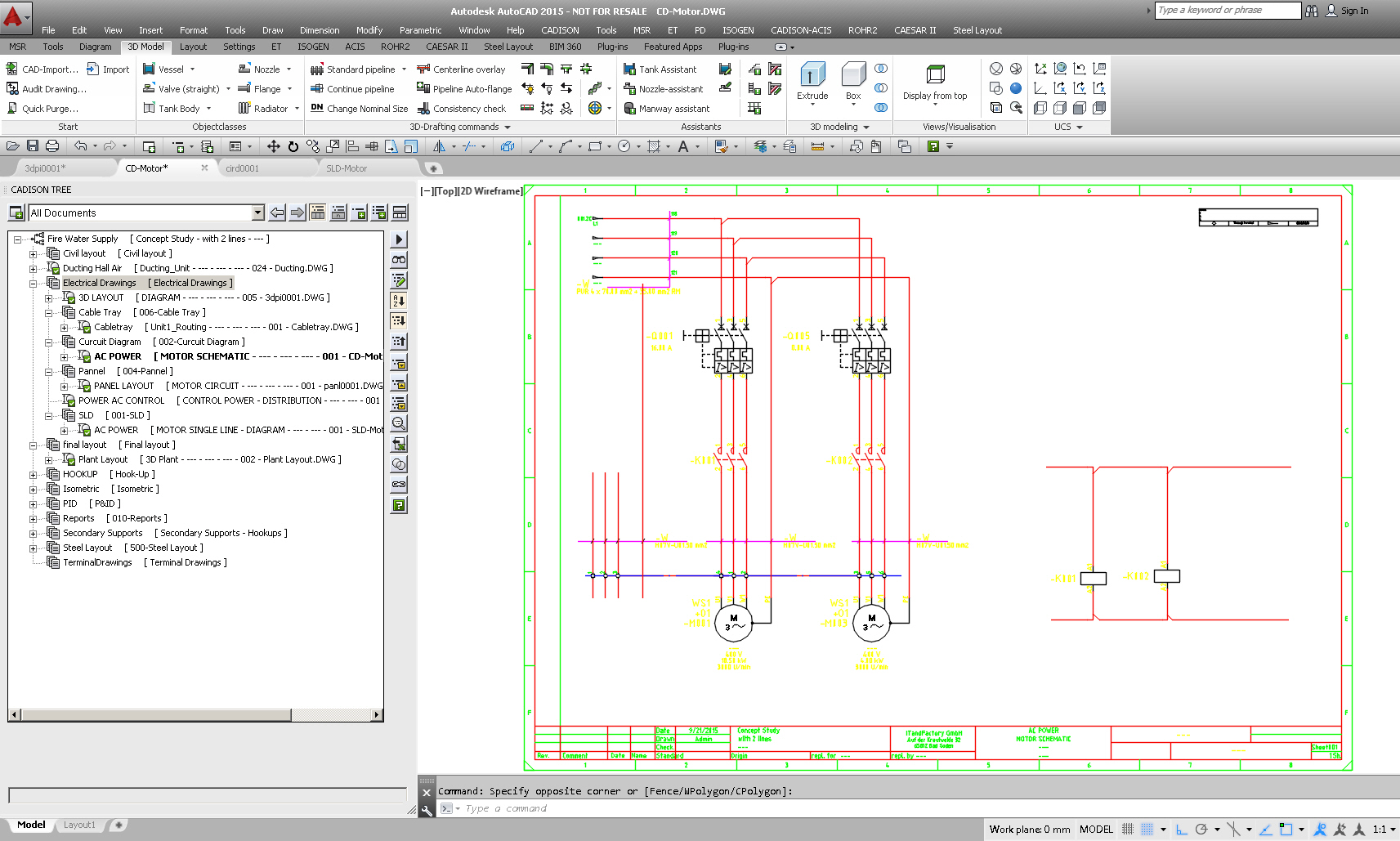 electrical software for plant engineering rh cadison com  electrical schematic program free